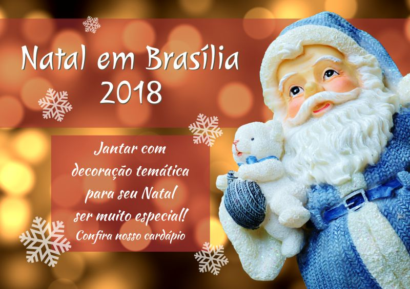 Natal em Brasilia 2018