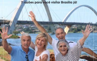 Você está na melhor idade para curtir a vida? 7 razões para você visitar Brasília já!