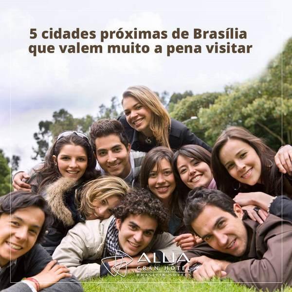 Visite 5 destinos incríveis estando hospedado em Brasília