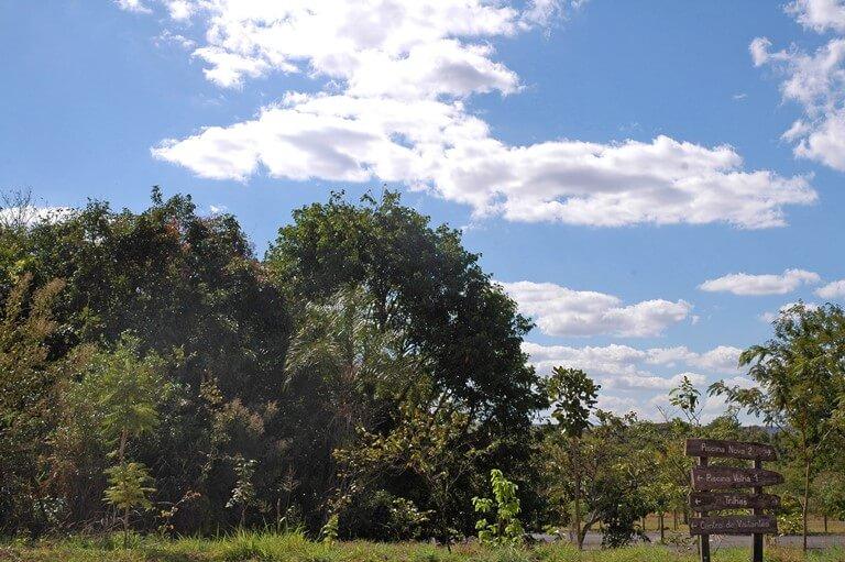 Parque Nacional de Brasília orientações