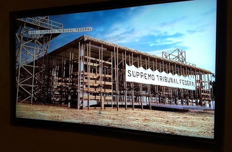 Construção do prédio do Supremo Tribunal Federal